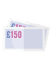£95 cashback