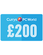 200 Pounds Currys PC World Gift Card