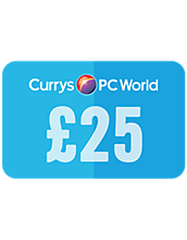 25 Pounds Currys PC World Gift Card