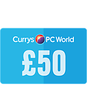 50 Pounds Currys PC World Gift Card