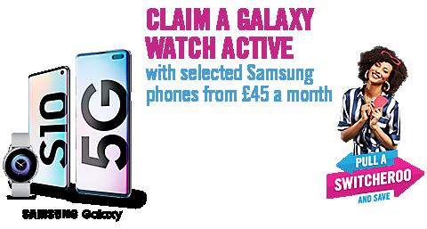Galaxy Watch promo