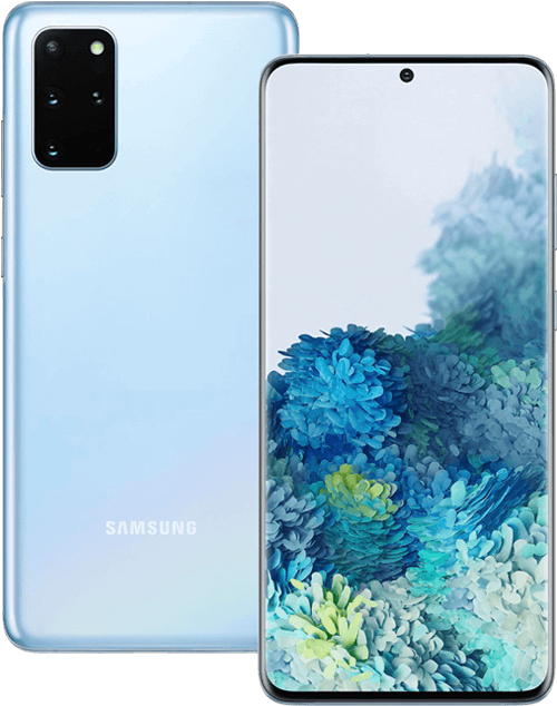 Samsung Galaxy S20+ 5G front and back image