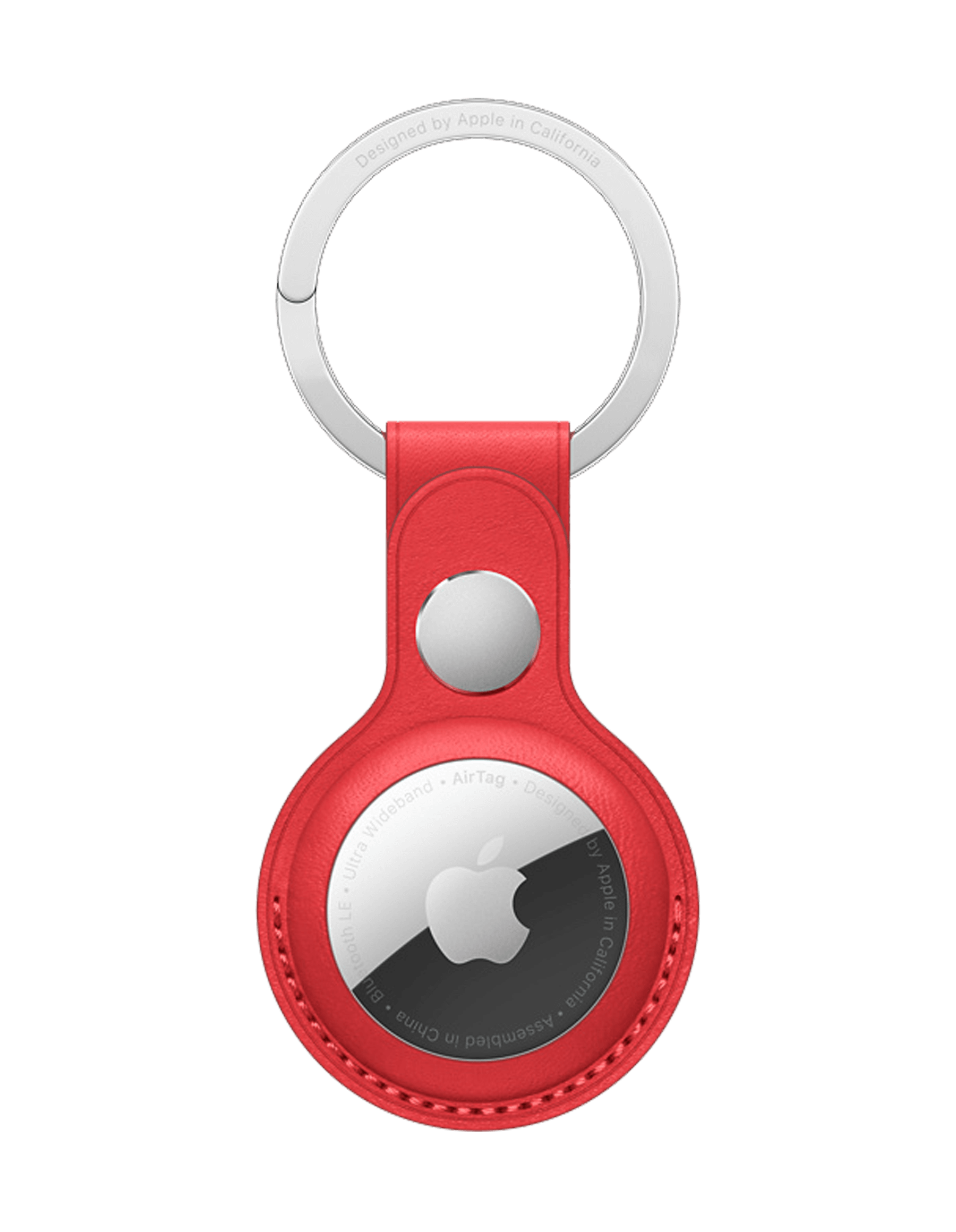 Apple Airtag in red