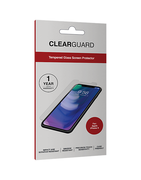 Clear Guard Iphone X Glass Screen Protector