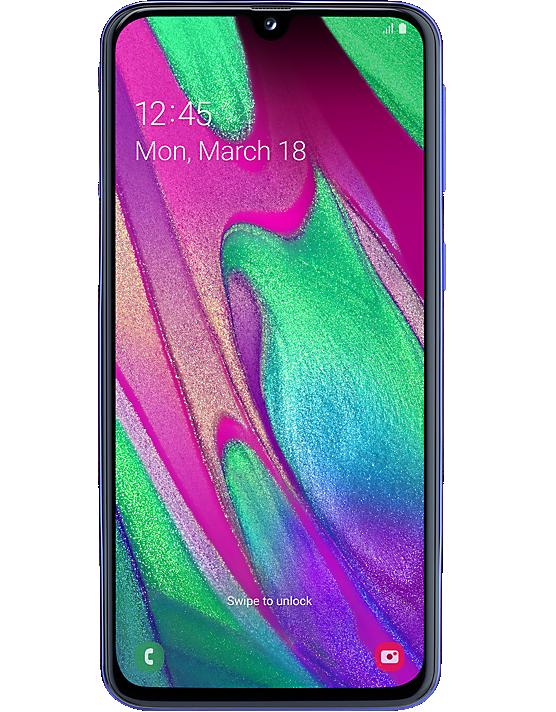 Samsung Galaxy A40 Contract Sim Free Carphone Warehouse