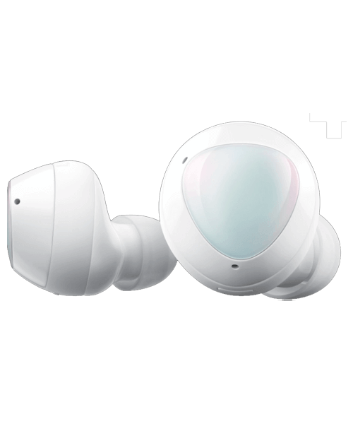Galaxy Buds+ in White