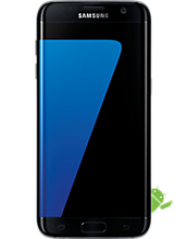 Samsung Galaxy S7 edge refurbished 32GB Black