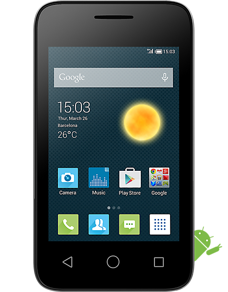 Alcatel OneTouch Pixi 3 3.5 Contract, Pay As You Go & Sim ...