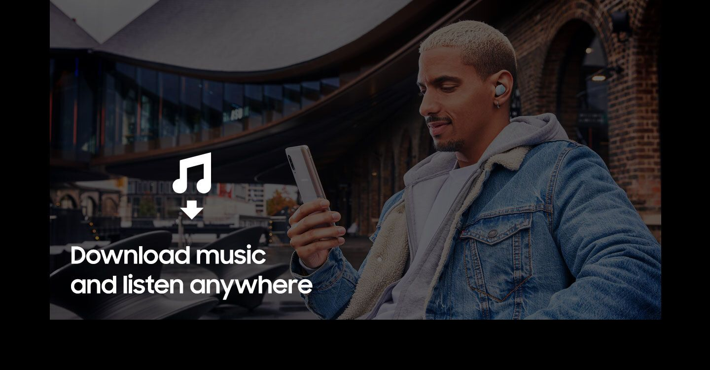 Download music and listen anywhere