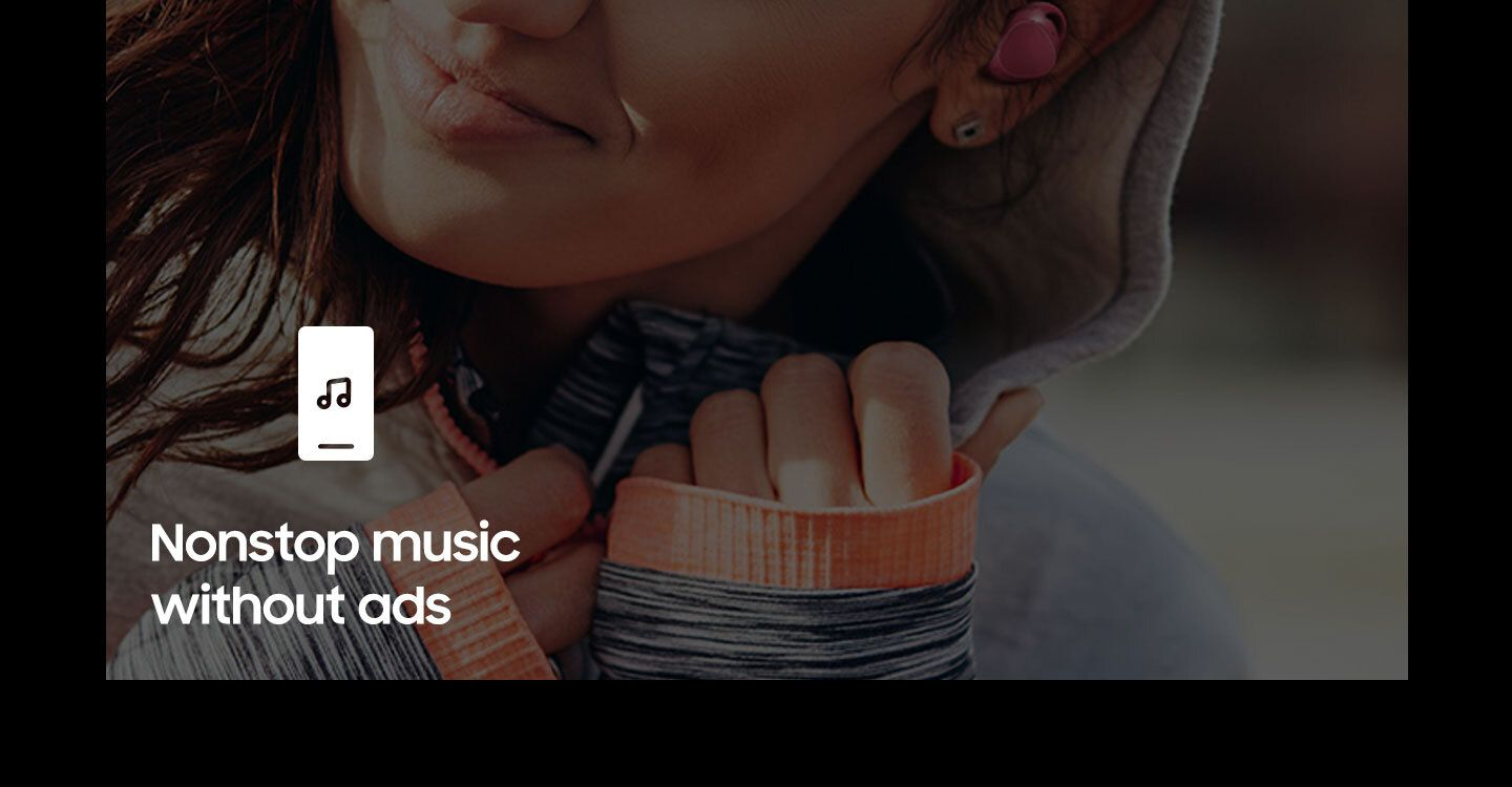 Nonstop music without ads