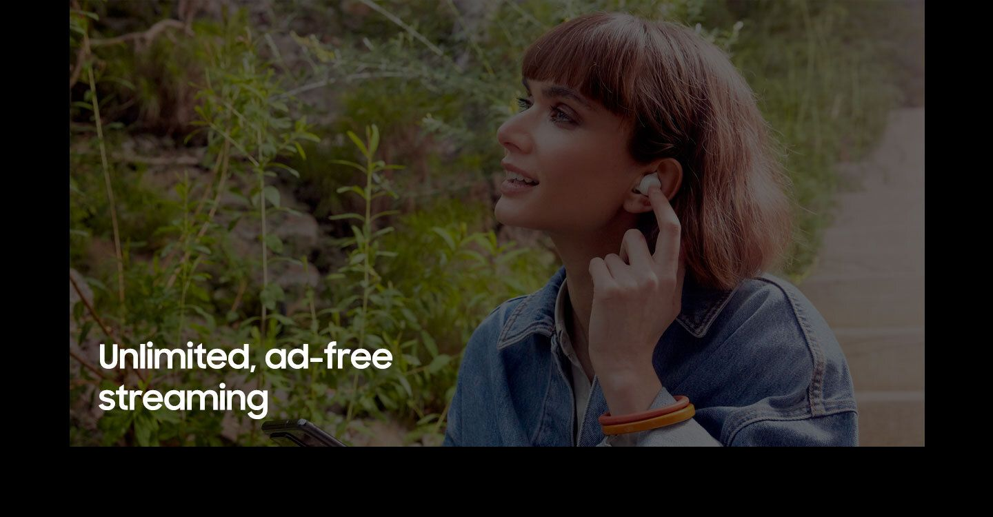 Unlimited, ad-free streaming