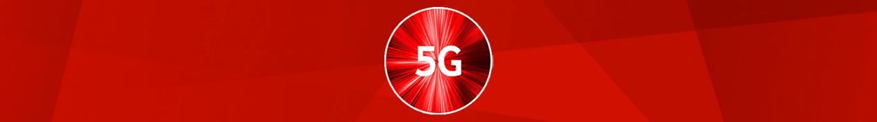 Vodafone 5g banner